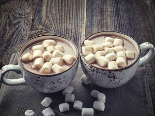 Собирать пазл Какао и зефирки онлайн