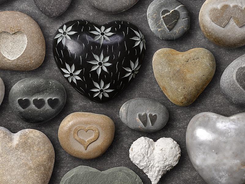 Пазл Собирать пазлы онлайн - Каменная любовь
