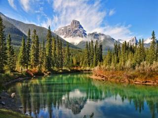 Собирать пазл Канадский заповедник онлайн