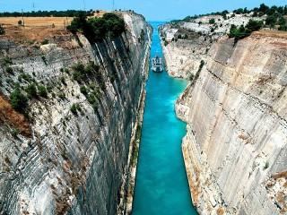 Собирать пазл Канал в Греции онлайн