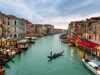 Собирать пазл Канал в Венеции онлайн