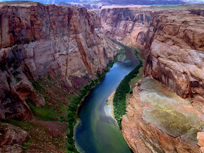 Пазл Собирать пазлы онлайн - Каньон в Колорадо