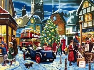 Собирать пазл Канун Рождества 1 онлайн