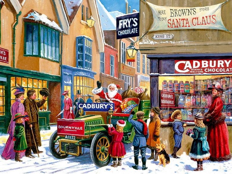 Пазл Собирать пазлы онлайн - Канун Рождества 2