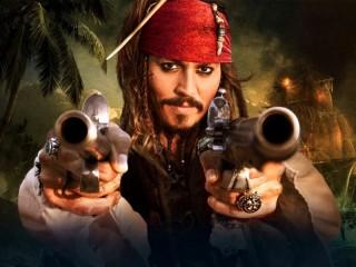 Собирать пазл Капитан Джек Воробей онлайн