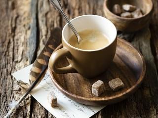 Собирать пазл Карамельный кофе онлайн