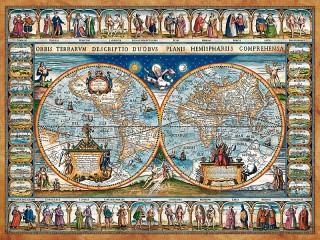 Собирать пазл Карта мира онлайн