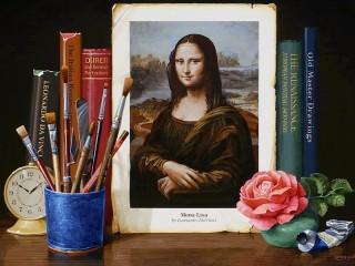 Собирать пазл Картина в картине онлайн
