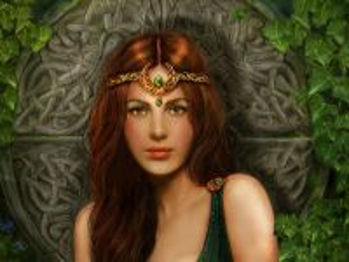 Собирать пазл Кельтская принцесса онлайн