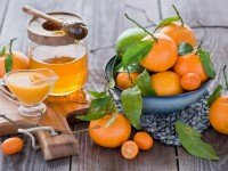 Собирать пазл Мандарины и мед онлайн