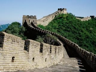 Собирать пазл Китайская стена онлайн