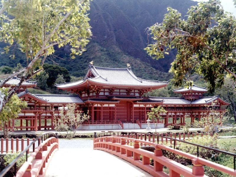Пазл Собирать пазлы онлайн - Храм в Японии