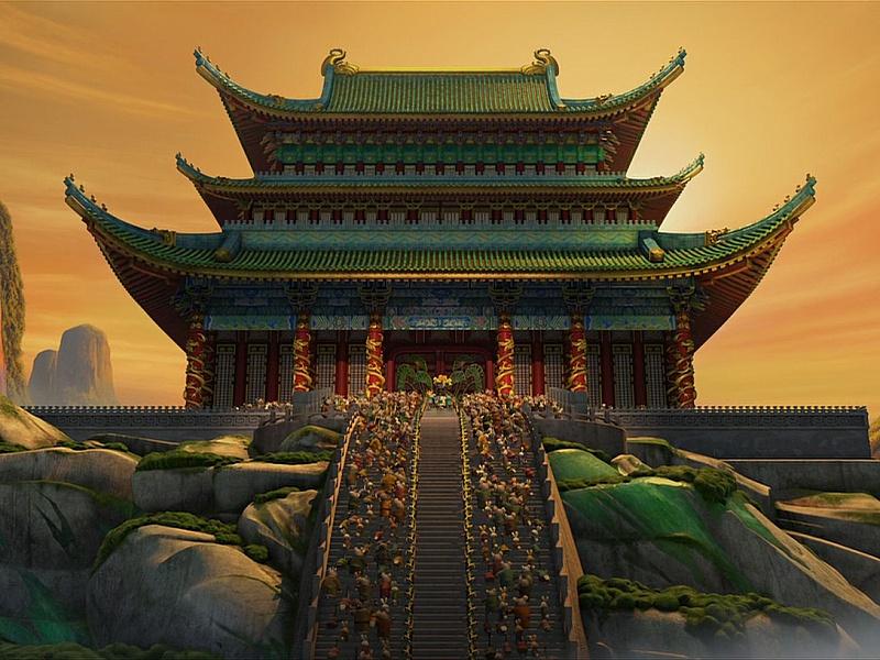 Пазл Собирать пазлы онлайн - Китайский дворец