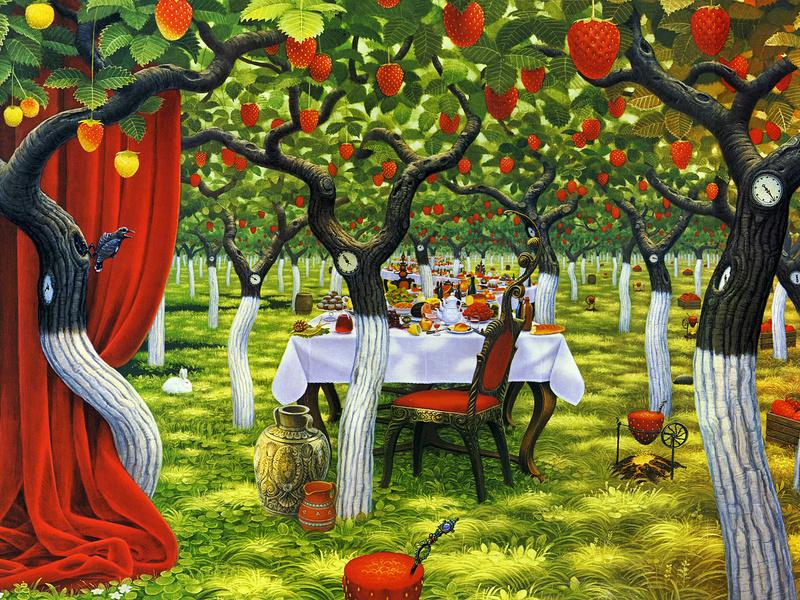 переделать картинка фруктового сада без фруктов слоненок
