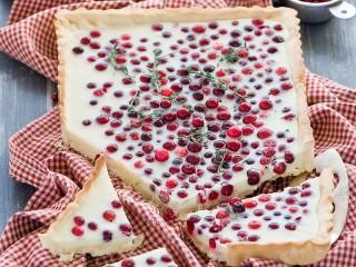 Собирать пазл Клюквенный пирог онлайн