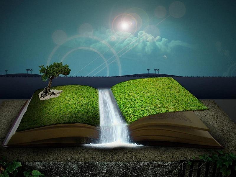 Пазл Собирать пазлы онлайн - Книга природы