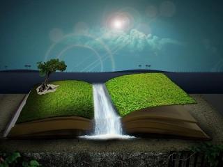 Собирать пазл Книга природы онлайн
