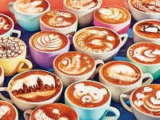 Собирать пазл Кофе-арт онлайн