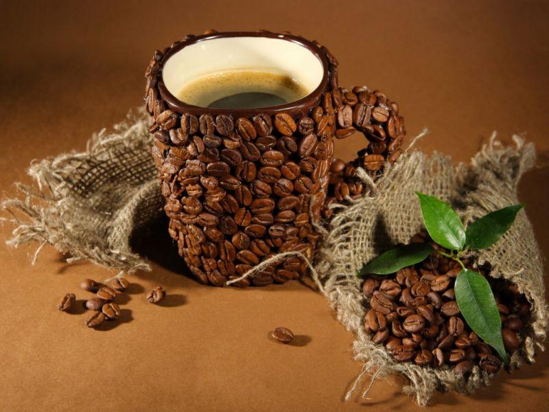 Пазл Собирать пазлы онлайн - Кофе 1