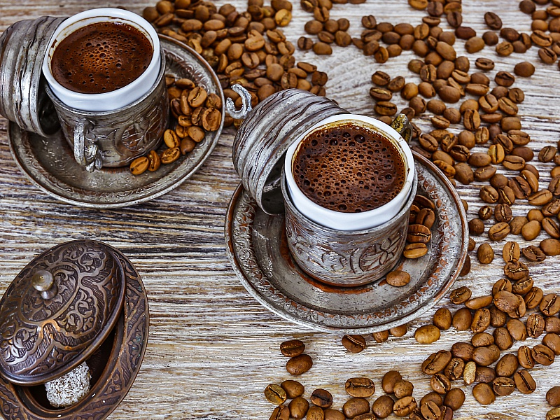 Пазл Собирать пазлы онлайн - Кофе