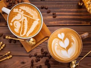 Собирать пазл Кофе онлайн