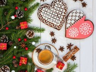 Собирать пазл Кофе и пряники онлайн