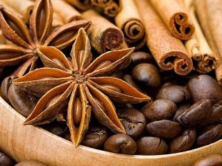 Собирать пазл Кофе и специи онлайн