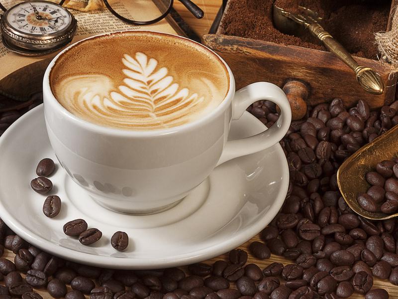 Пазл Собирать пазлы онлайн - Кофе капучино