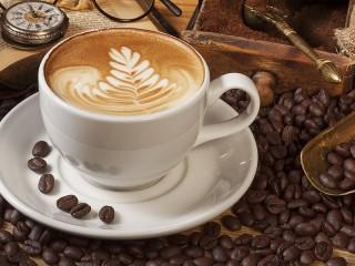 Собирать пазл Кофе капучино онлайн