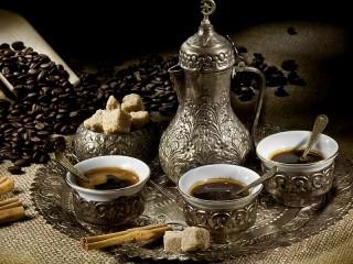 Собирать пазл Кофе по турецки онлайн