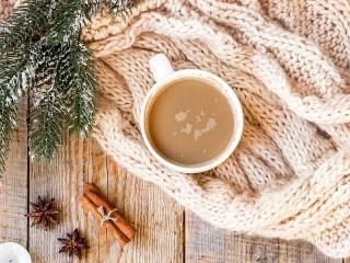 Собирать пазл Кофе с молоком онлайн
