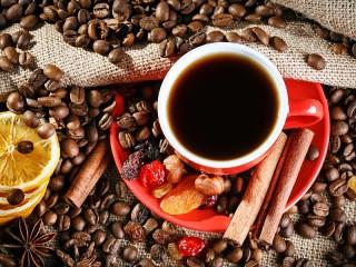 Собирать пазл Кофе с пряностями онлайн