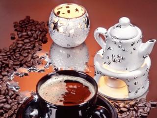 Собирать пазл Кофе серебро онлайн