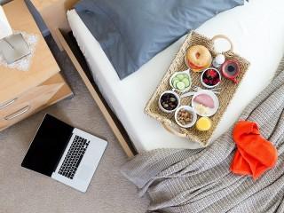 Собирать пазл Кофе в постель онлайн