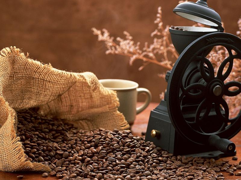 Пазл Собирать пазлы онлайн - Кофемолка
