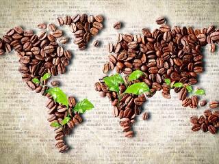 Собирать пазл Кофейная карта онлайн