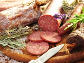 Собирать пазл Колбасы и травы онлайн