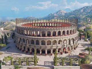 Собирать пазл Колизей онлайн