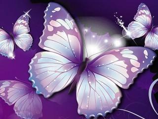 Собирать пазл Коллаж из бабочек онлайн