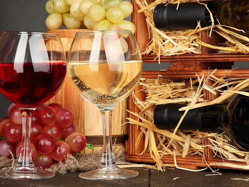 Пазл Собирать пазлы онлайн - Коллекционное вино