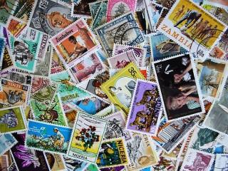 Собирать пазл Коллекция марок онлайн