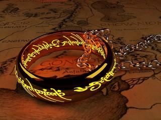 Собирать пазл Кольцо Всевластия онлайн