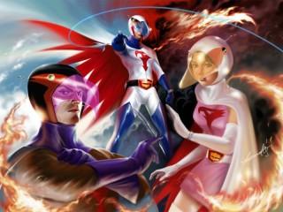 Собирать пазл Команда героев онлайн