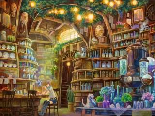 Собирать пазл Комната алхимика онлайн