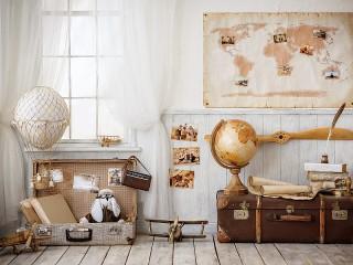 Собирать пазл Комната путешественника онлайн