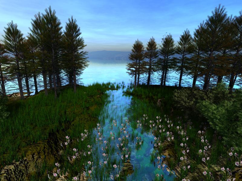 Пазл Собирать пазлы онлайн - Компьютерные лес