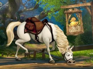 Собирать пазл Конь Максимус онлайн