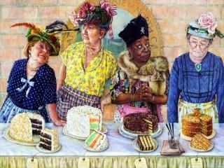 Собирать пазл Конкурс тортов онлайн
