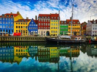 Собирать пазл Копенгаген онлайн