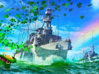 Собирать пазл Корабли удачи онлайн